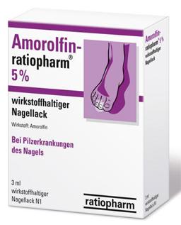 Аморолфин от грибка стопы