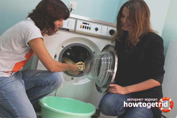Что делать, если пахнет плесенью в стиральной машине