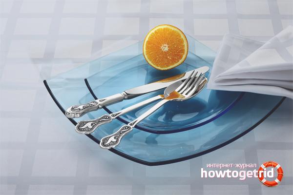 Как почистить столовые приборы из нержавейки