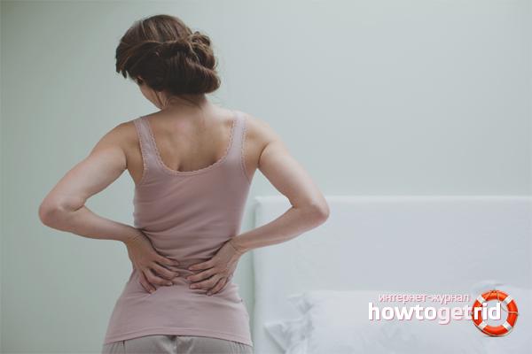 Как снять боль в пояснице в домашних условиях