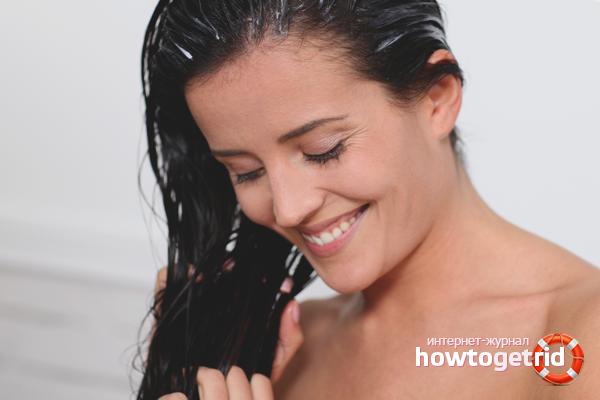 Как устранить неприятный запах с волос