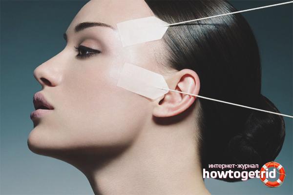 Профессиональная косметология против гусиных лапок