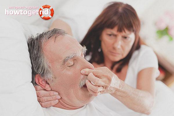 Храп симптом мононуклеоза