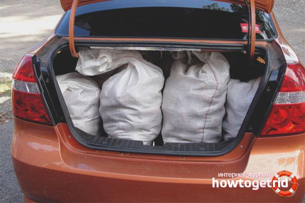 Проверьте, что лежит в вашем автомобиле