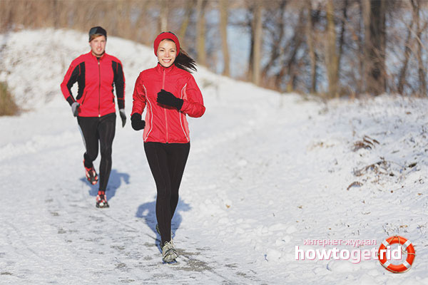 Экипировка для зимней пробежки