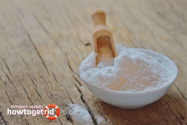 Избавляемся от перхоти с помощью соды