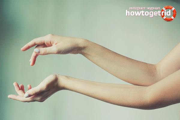 Как осветлить волосы на руках