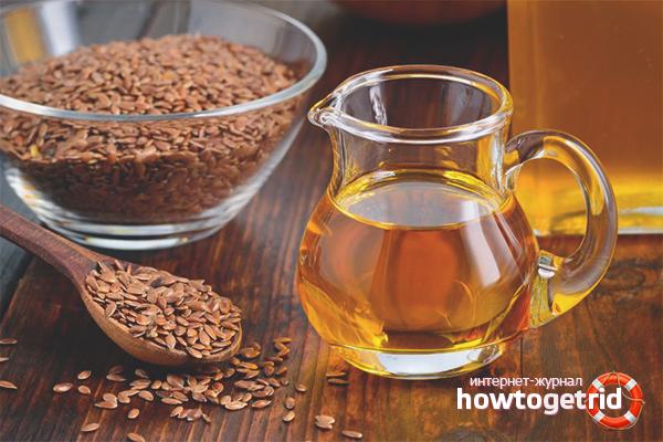 Как применять и хранить льняное масло
