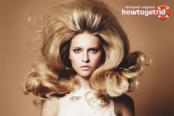 Как сделать волосы у корней объемными