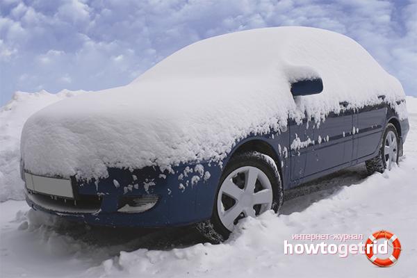 Как ухаживать за машиной зимой