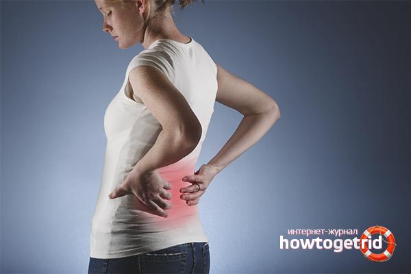 Что надо делать если спина и живот болит