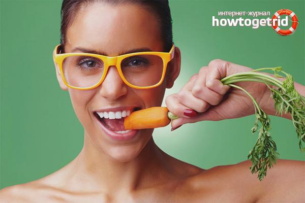 Какие продукты улучшают зрение