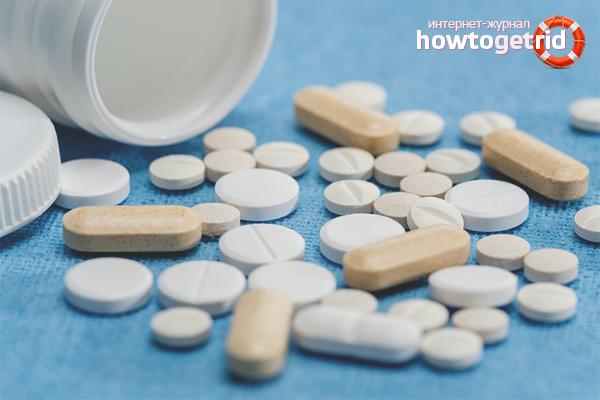 Лечение позвоночной грыжи препаратами
