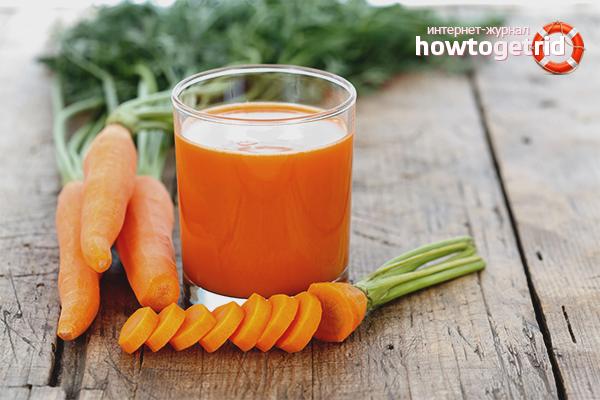 Морковный сок для лактации