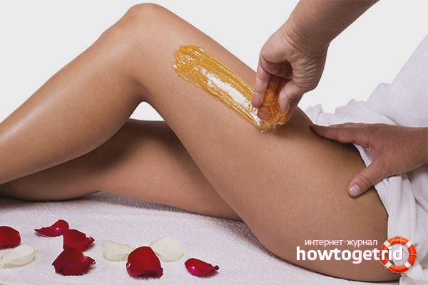 Подготовка кожи к шугарингу