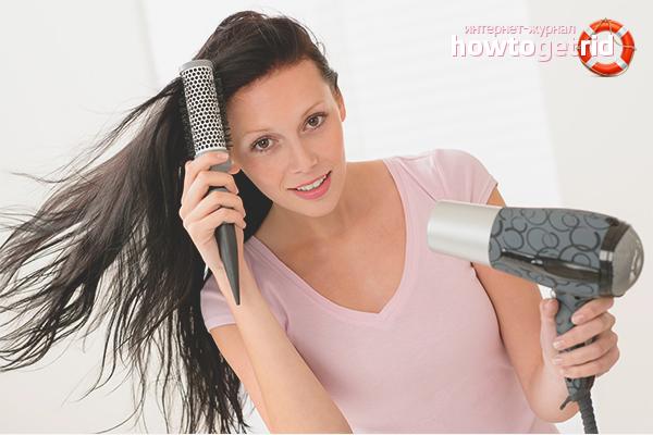 Рекомендации по расчесыванию волос