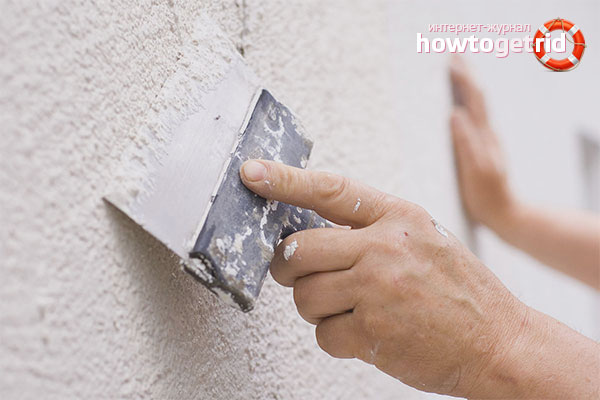 Ремонтная ликвидация трещин в стенах