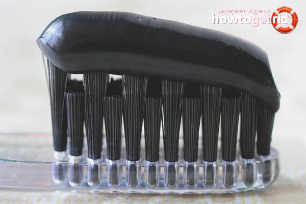 Эффективные способы отбеливания зубов углем