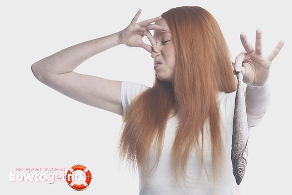 Как избавиться от запаха рыбы на руках