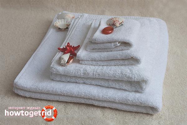 Как отбелить кухонные полотенца народными средствами