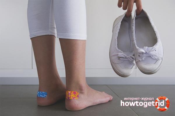 Как размягчить задники на обуви