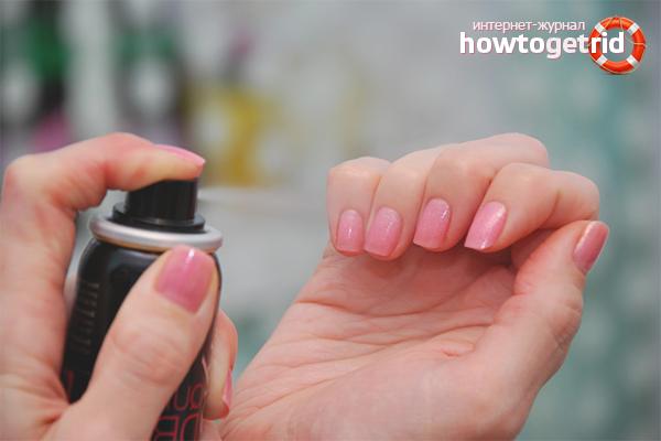 Как высушить ногти