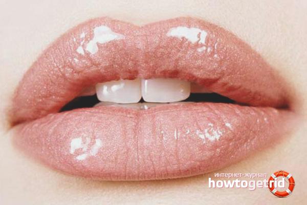 Макияж для пухлых губ
