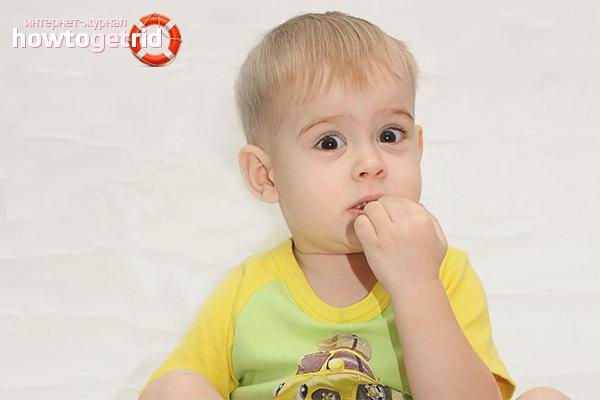 Способы отучить ребенка грызть ногти