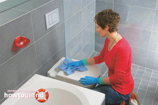 Устраняем запах в туалете