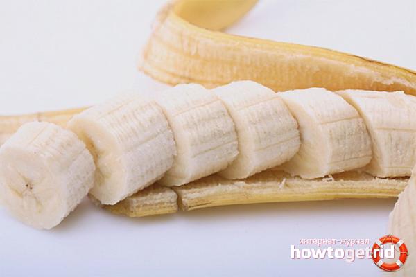 Банановая маска для волос