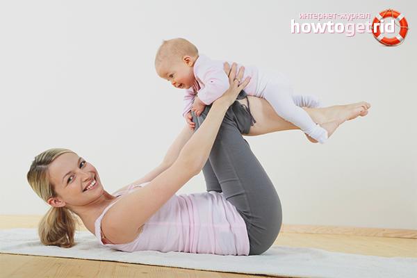 Как восстановить фигуру после родов видео в домашних условиях