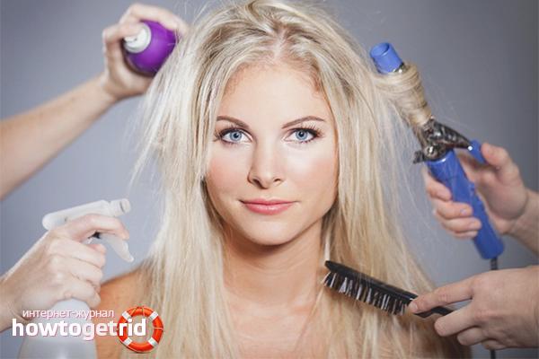 Как быстро восстановить волосы после осветления