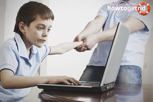 Как избавить ребёнка школьного возраста от компьютерной зависимости