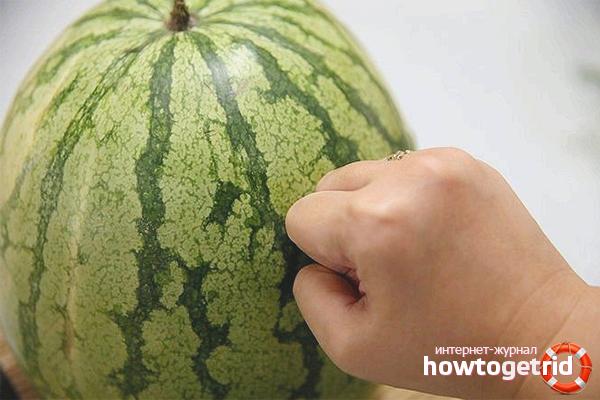 Как отличить нитратный арбуз от хорошего арбуза
