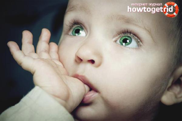Как отучить маленького ребенка сосать палец