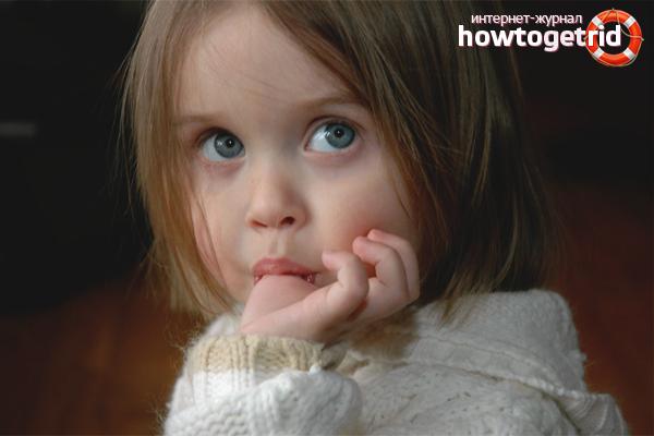 Как отучить ребенка в 2–3 года сосать палец
