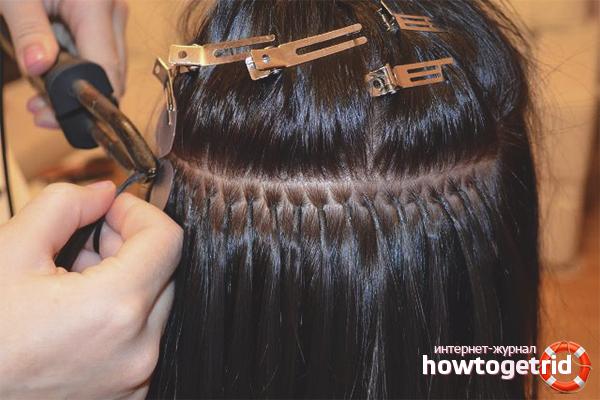 Как снять волосы, наращенные на металлические зажимы