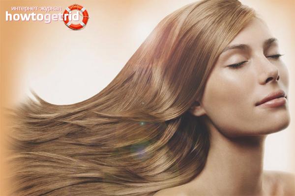 Как вернуть свой цвет волос после окрашивания
