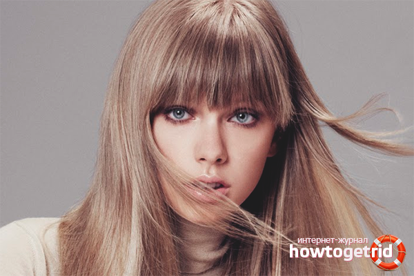 Как затонировать волосы