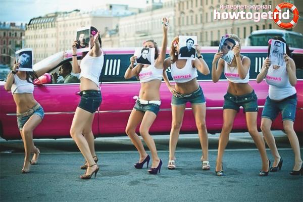 Лимузин для девичника