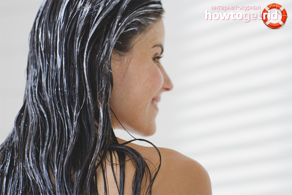 Маски для придания блеска волосам