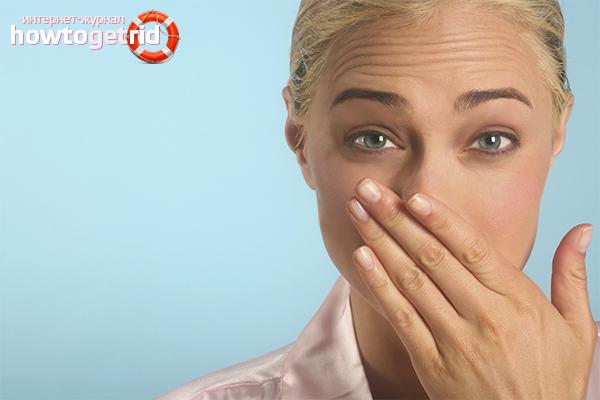 как избавить от запаха изо рта