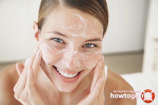 Отшелушивание и очищение кожи