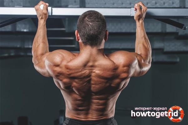 Подтягивание для спины