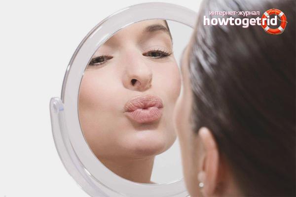 Упражнения для увеличения губ в домашних условиях