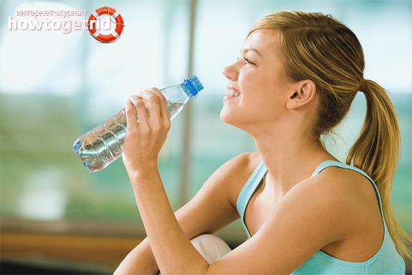 Водный эффект для похудения