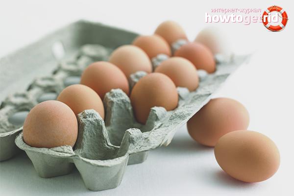 Выбор и хранение яиц
