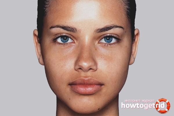 Как избавиться от жирной кожи лица