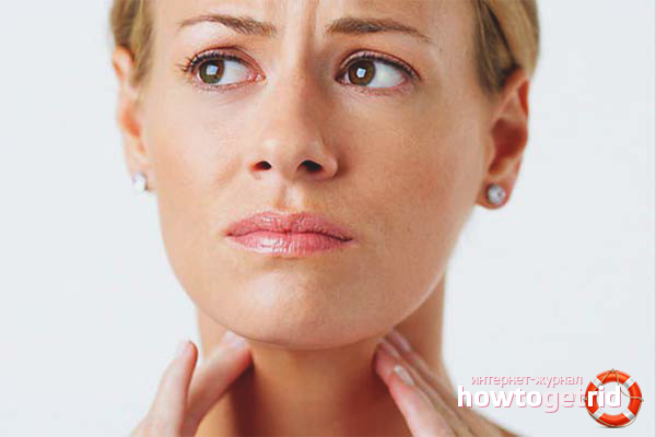 Как лечить лимфоузлы на шее