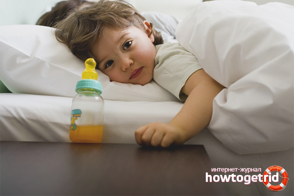 Как отучить малыша от бутылочки ночью